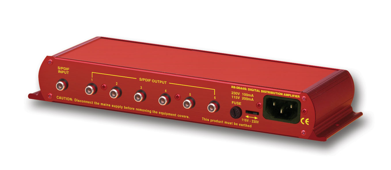 Video Distribution Amplifier Digital S Pdif Stereo Audio Splitter
