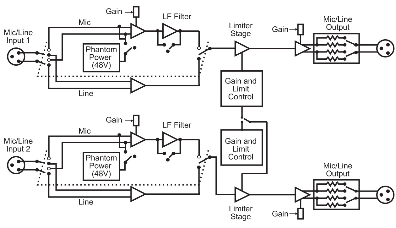 see typical mic input powering scheme