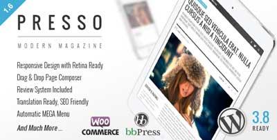 PRESSO - Clean and Modern Magazine Theme