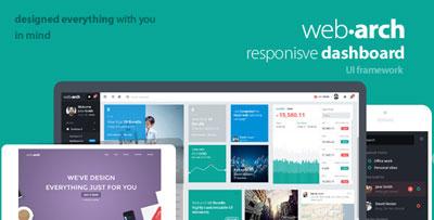 Webarch Responsive Admin Panel Theme