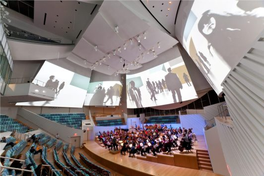 10. New World Center Performance Hall