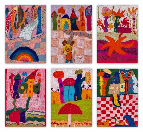 Kunst in der Grundschule  Atelier Sonja Mengkowski