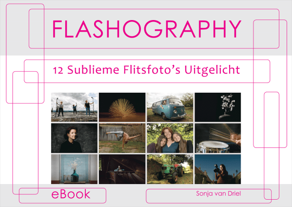 eBook Flashography 12 Sublieme Flitsfoto's Uitgelicht
