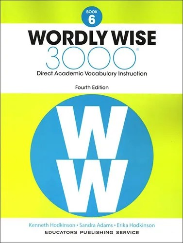 Wordly Wise 3000 Book 6 Lesson 3 Answer Key