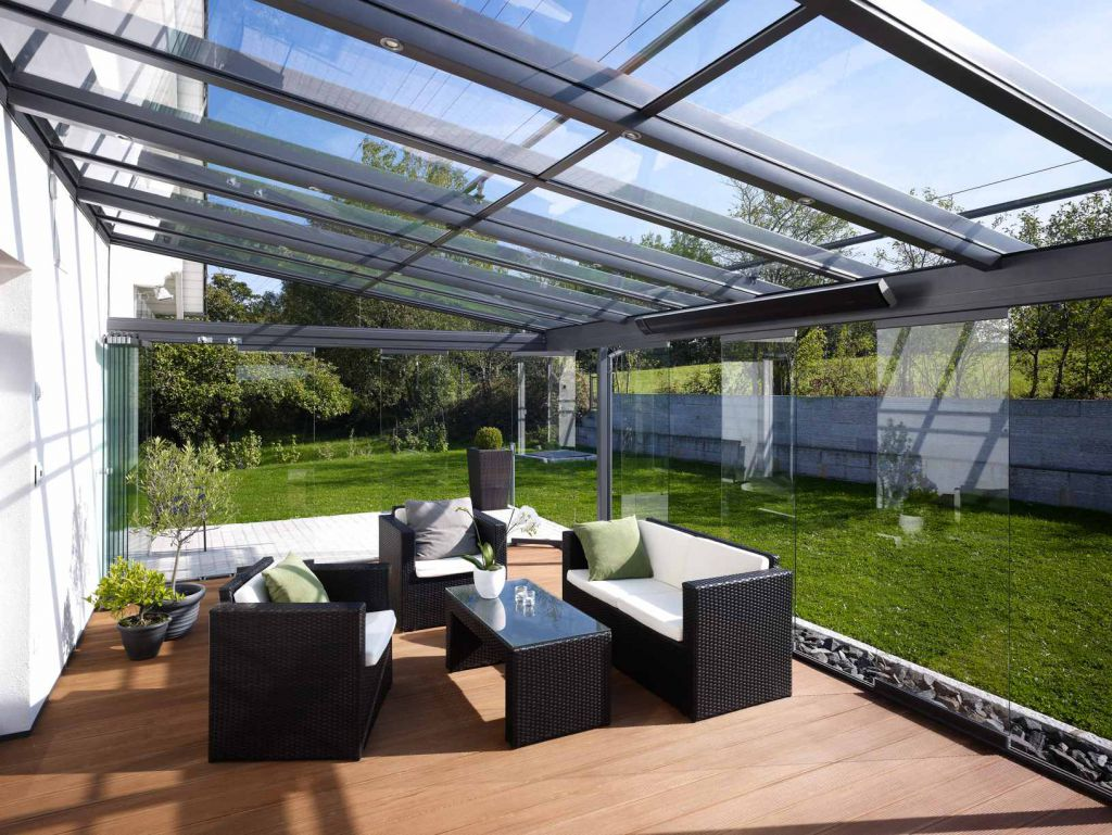 ᐅ Solarlux Terrassenüberdachung Hamburg & Pinneberg Sonne