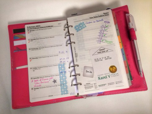 Filofax Pages