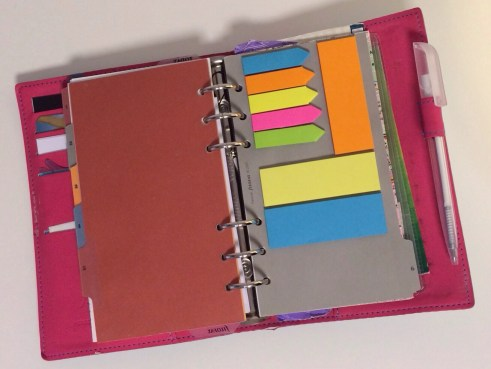 Filofax Post it