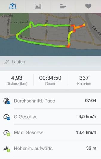 Lauftraining 03.04.2014