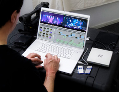 Fusion F2 Editing Workstation