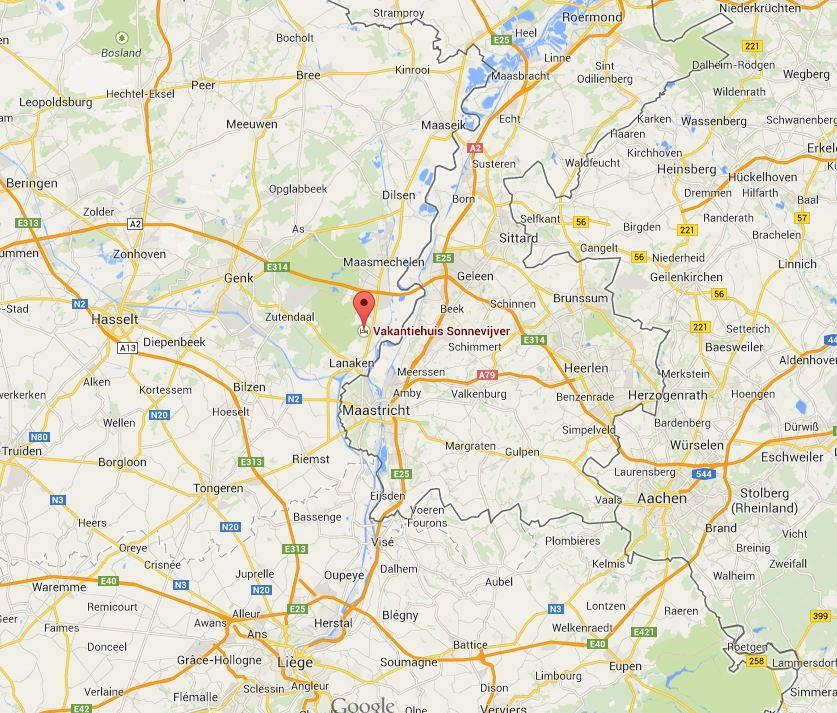 GPS routes Zuid Limburg omgeving Rekem