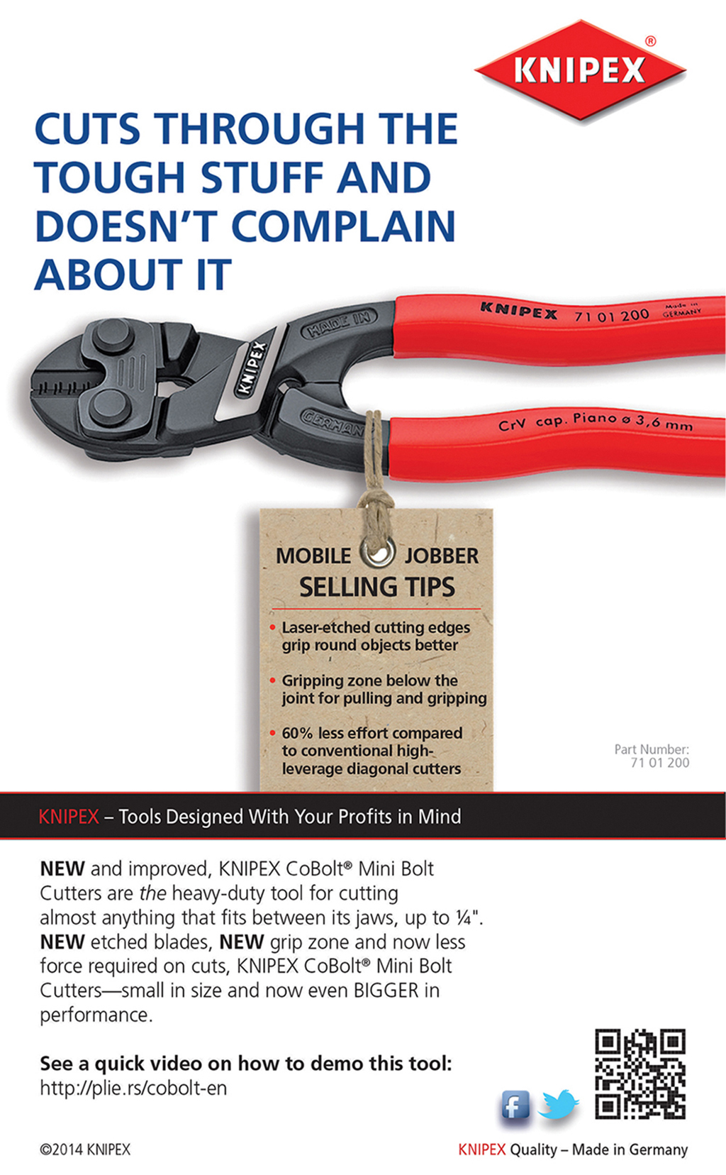 KNIPEX — Making the Sale