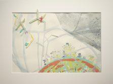 Dieses Kunstwerk wurde gestaltet von: 1. Harun Kloppe, 2. Cornelia Morsch, 3. Bettina Specht, 4. Claudia Hölzel