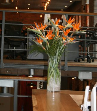 Corporate Flower Displays