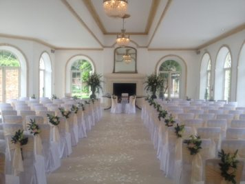 Northbrook Park ceremony flowers