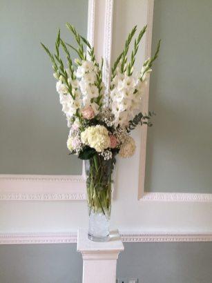 Tall Flower Vase for ceremony