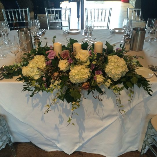 Top table centre at Notley Abbey