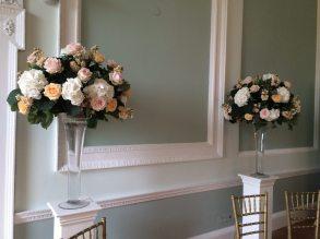 Statement Vases at Botleys Mansion