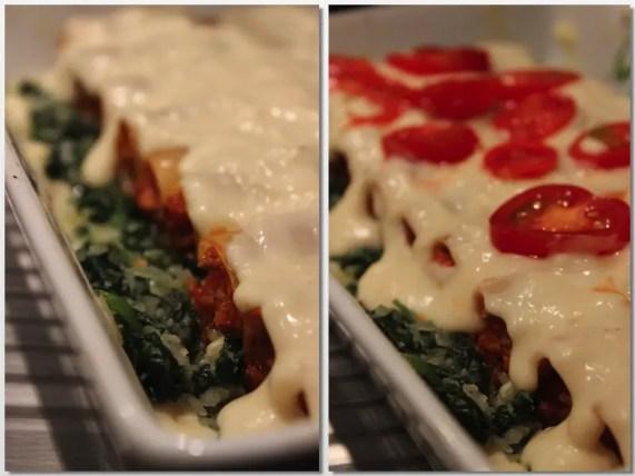 Cannelloni alla Bolognese mit iglo Blattspinat