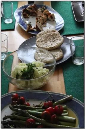 Jamie Oliver 30 Minuten Menü – Gefüllte Hähnchenbrüste auf Zyprische Art