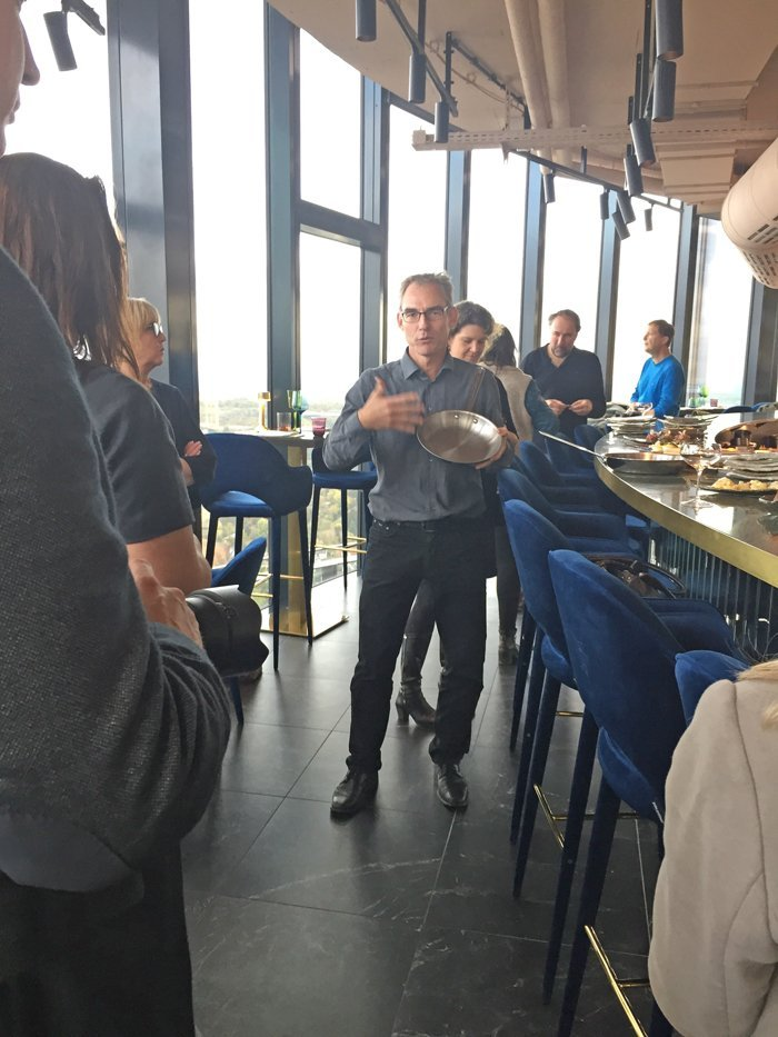 All-Clad Event im Restaurant Franziska über Frankfurt