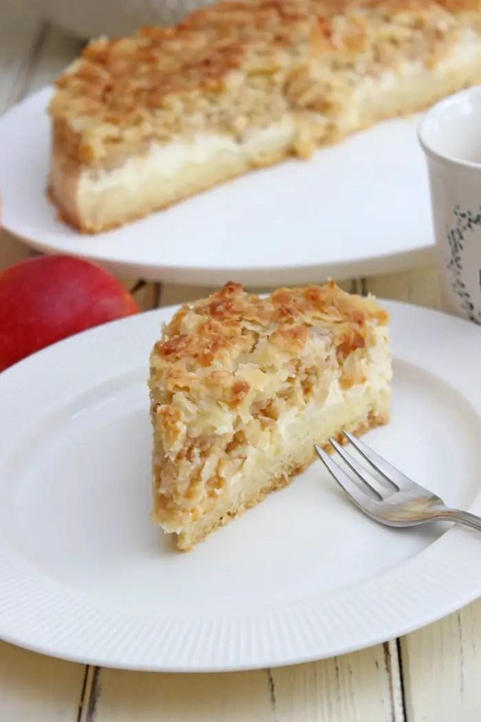 Apfel-Mandel-Käsekuchen