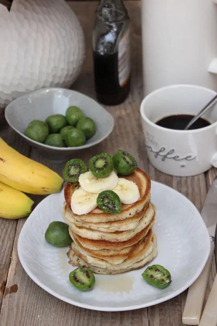 Bananen-Protein-Pancakes Rezept