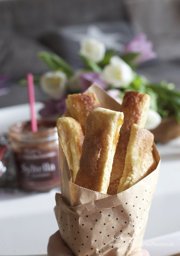 Easy-peasy Birnen Pie-Sticks Rezept