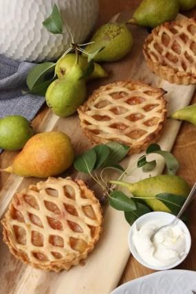 Birnen-Zimt-Pie Rezept – Wunderbar fruchtig