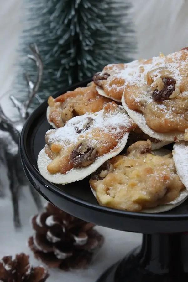 Weihnachtliche Bratapfel-Cookies Rezept