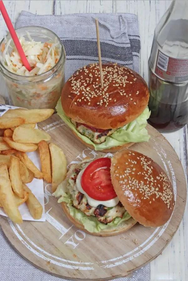 Chicken Burger und Coleslaw Rezept mit der GEFU Trommelreibe
