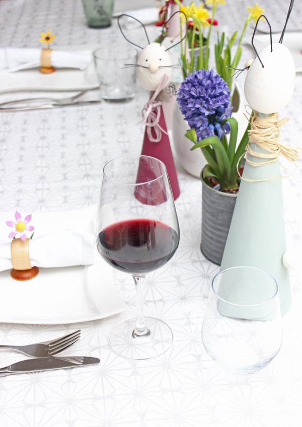Ostermenü - Lammlendenfilet auf lila Kartoffelstampf, Gemüsestreifen & Granatapfelsoße