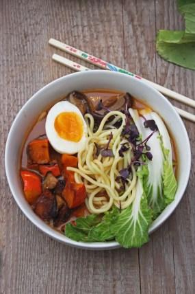 Kotteri Ramen Soup | Veggie