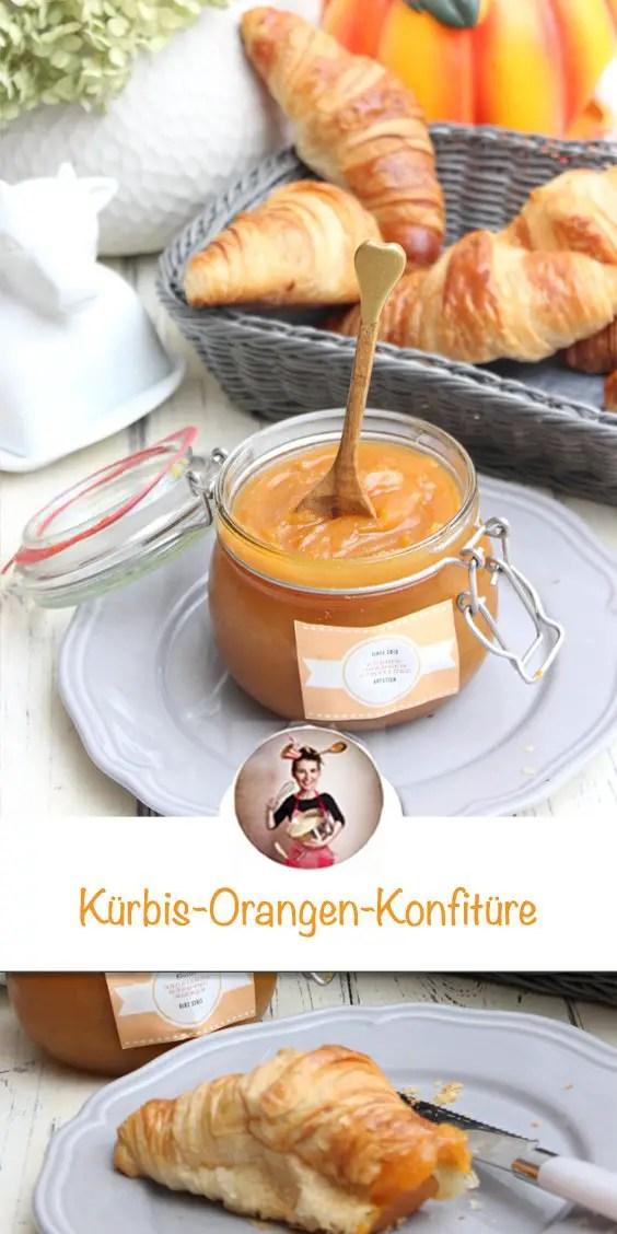 Kürbis-Orangen-Konfitüre