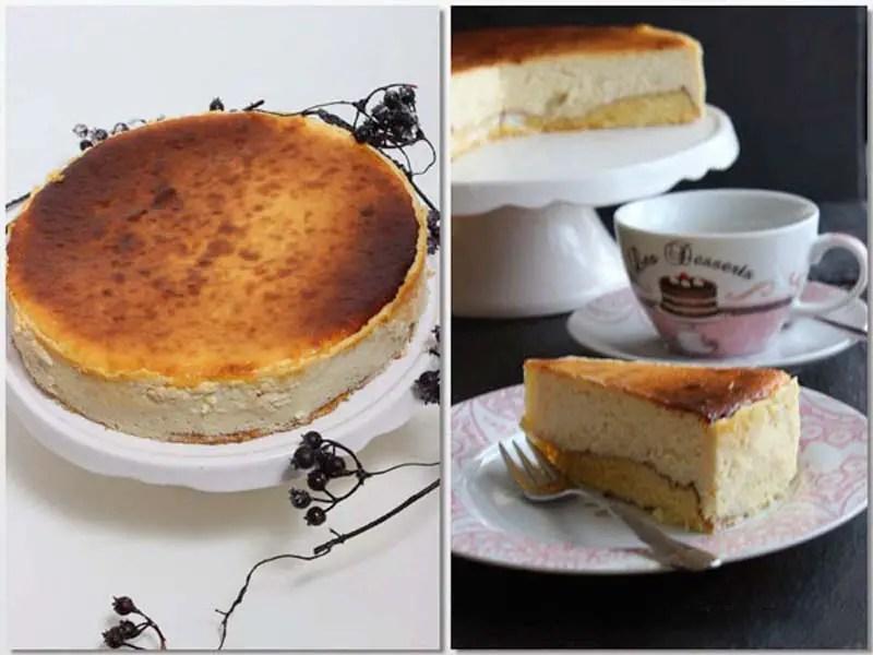 Ein himmlischer und köstlicher MarzipanCheesecake