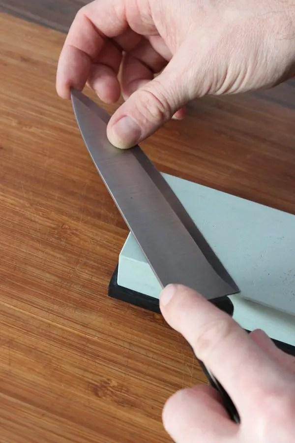 Wenn das Messer stumpf ist muss ein Schleifstein her