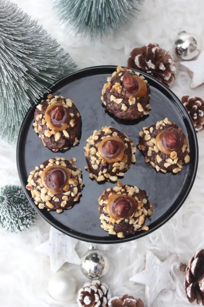 Schoko-Nuss-Kuller | Weihnachtsplätzchen Rezept