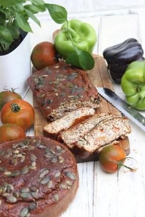 Paprika-Tomaten-Brot | Low Carb