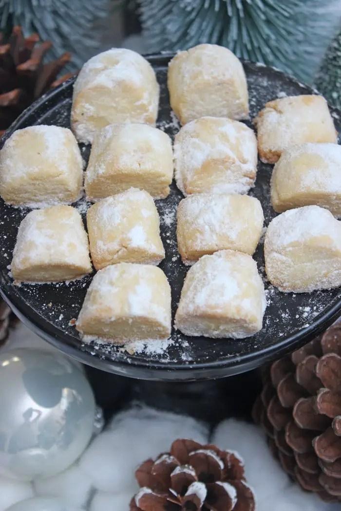 Traumstücke mit Mandelaroma - Weihnachtsplätzchen Rezept