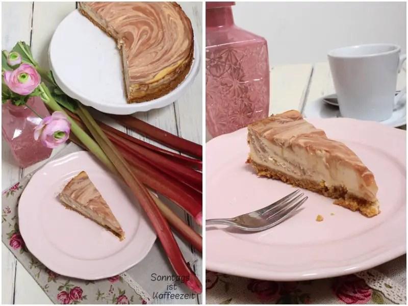 Rhabarber Cheesecake mit Gluten Free Cornflakes Rezept