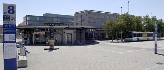 Bahnhof Wil SG  Sonntagsverkauf