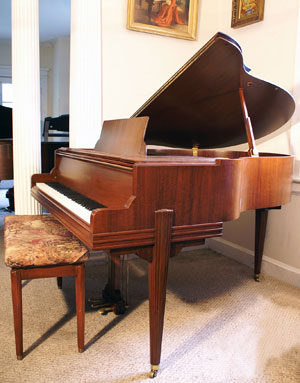 Mason & Hamlin Symmetrigrand - Sonny\'s PianoTV