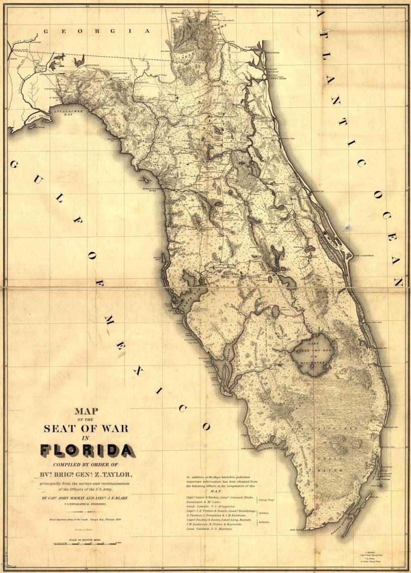 110 ꎇ Ideas Map Of Florida Vintage Florida Old Florida