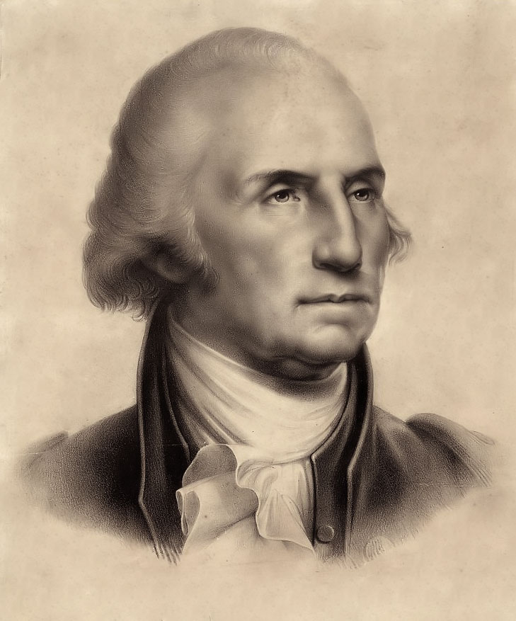 Geoarge Washington by Rembrandt Peale