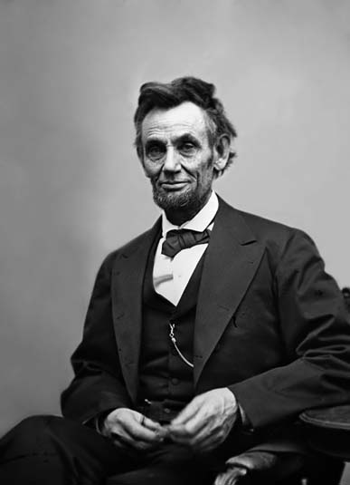 Last Picture of Abraham Lincoln