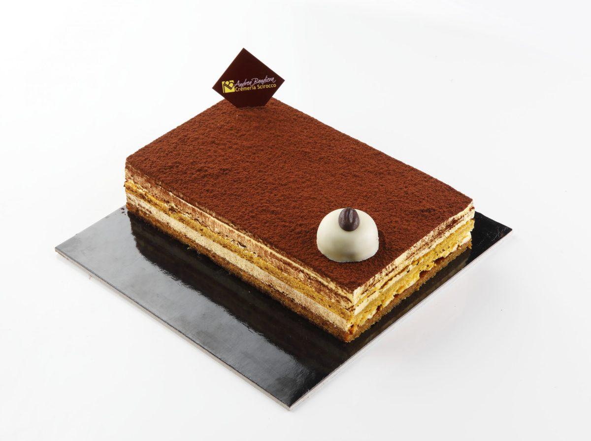 Torta Semifreddo al Tiramisù