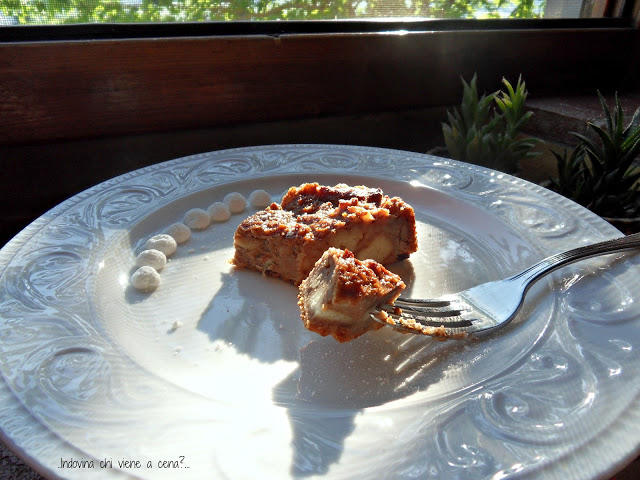 torta di pane senza zucchero