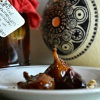 fichi caramellati al rum al cioccolato  e la mia visione della foodblogger