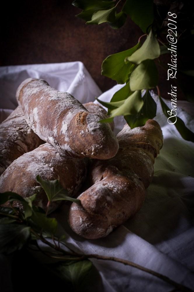 Pane al cioccolato con fichi secchi e noci di Macadamia