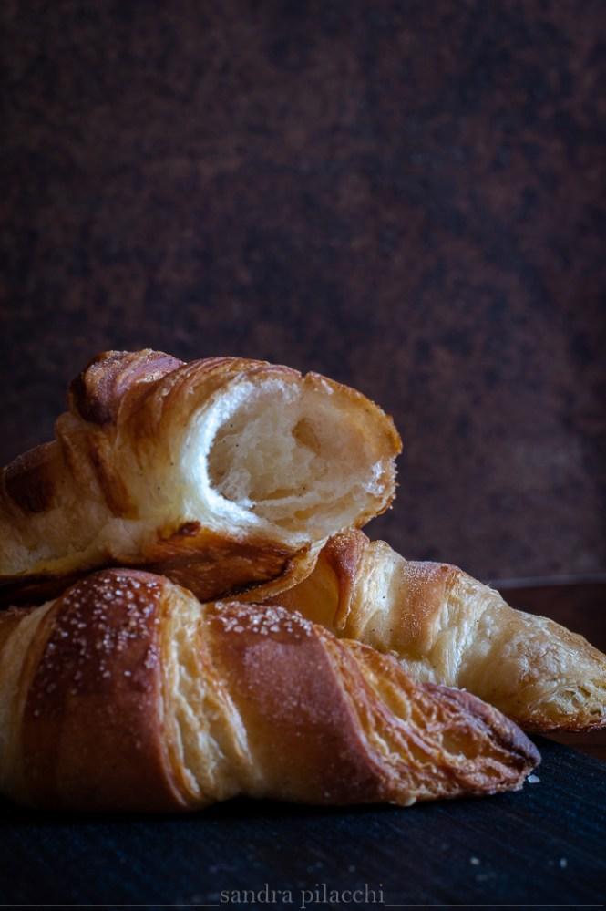 les croissants français