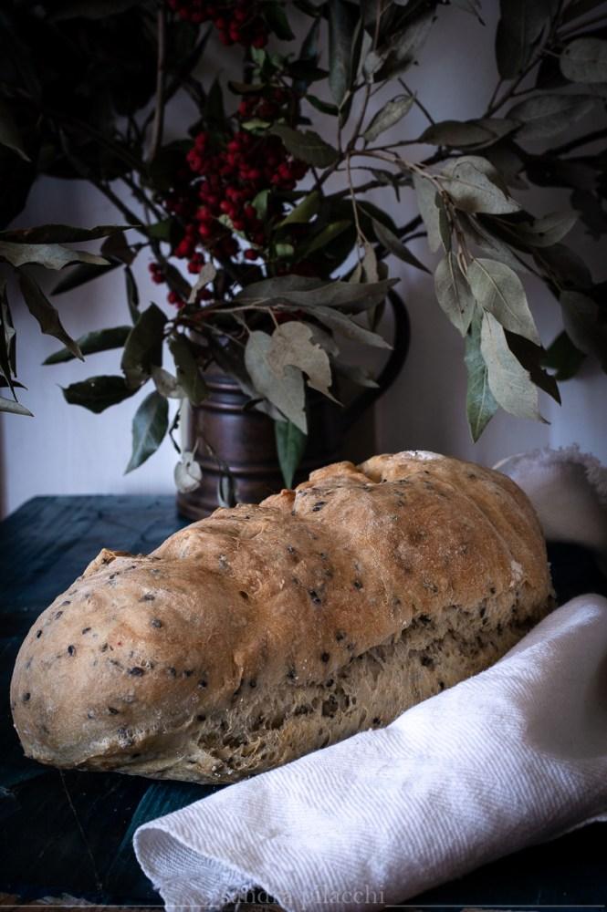 Pane senza impasto ai semi di papavero